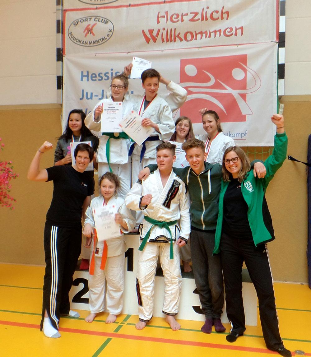 Siegerfoto Hessenmeisterschaft 2015
