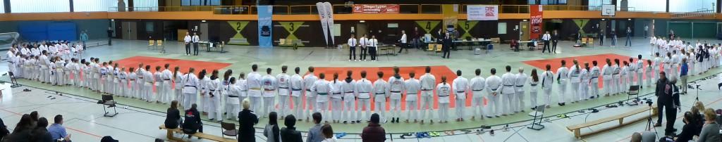 Alle Teilnehmer des Domstadtpokals