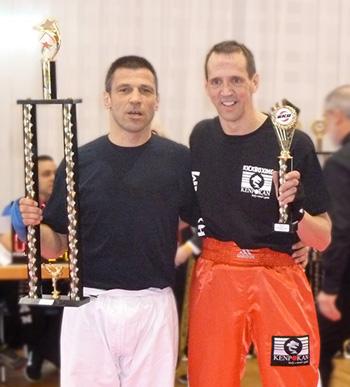Jörg Ehrhardt (links) bei der Siegerehrung