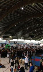 Panorama der Eishalle beim Northern Cup